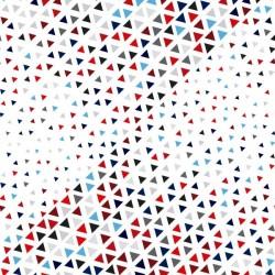 Vinilo mueble triángulos de colores 2