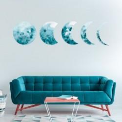 Vinilo Fases de la Luna
