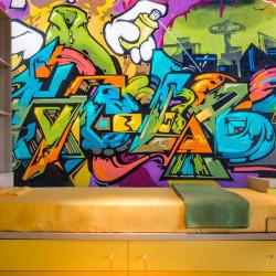 Fotomural grafiti formas