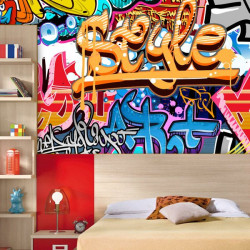 Fotomural grafiti style