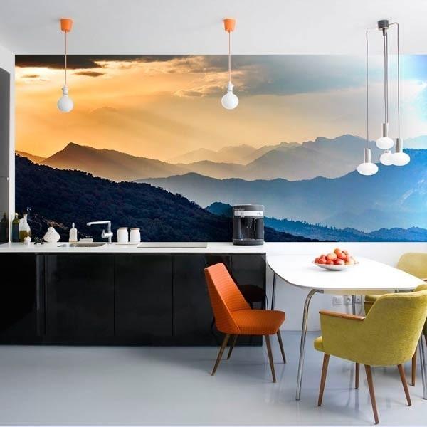 Mural pared floresta de Himalaya