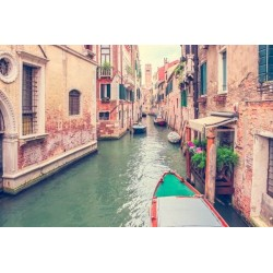 Mural canales de Venecia 3