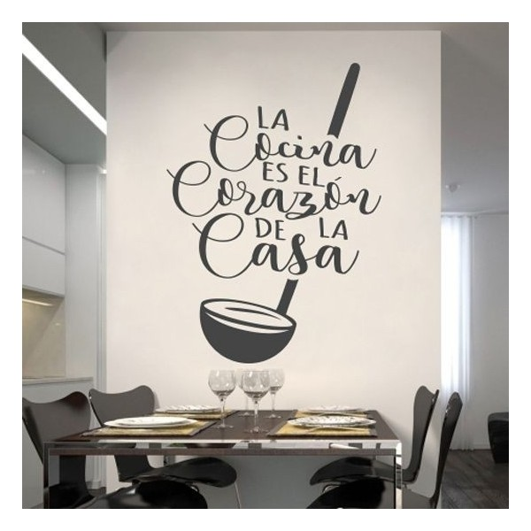 La cocina vinilo decorativo para transformar tu casa - Vinilos personalizados pared ...
