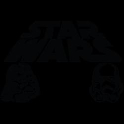 Vinilo decorativo Star Wars