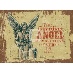 Vinilo para cómodas ángel de la guarda