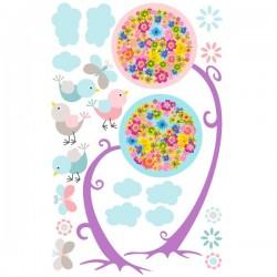 Pegatina decorativa flores 22
