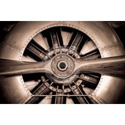 Adhesivo hélice de avión