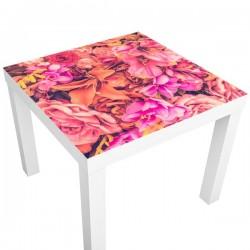 Adhesivo mesas flores vintage