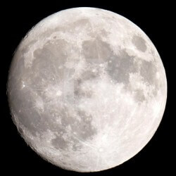 Adhesivo decorativo luna llena