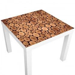 Pegatina mesa ikea troncos...