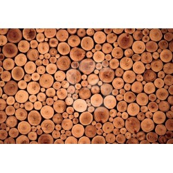 Pegatina mesa ikea troncos de árbol