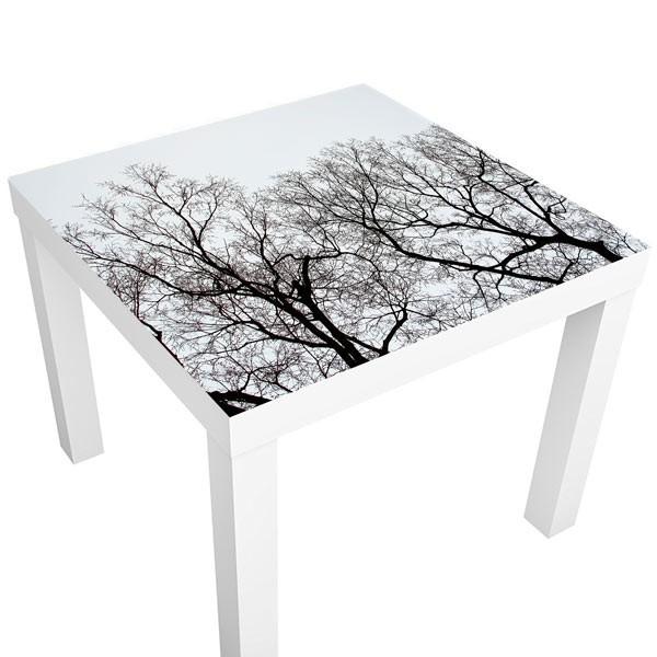 Vinilo mesas ramas del árbol