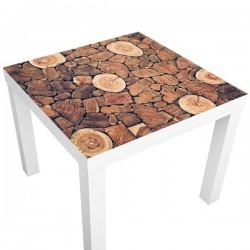 Vinilo adhesivo troncos de madera