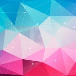 Vinilo formas geometricas 3D