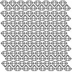 Adhesivo de mini pegatinas diamantes