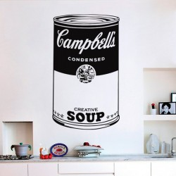 Vinilo arte pop Campbell's...