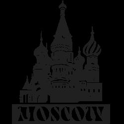 Vinilos de ciudades Moscow