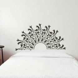 Adhesivo cabecera ornamental