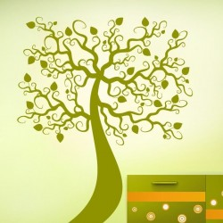 Adhesivo decorativo árbol 12