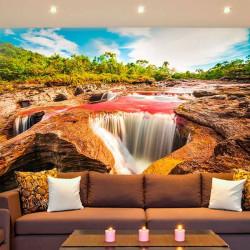 Mural rio Caño Cristales