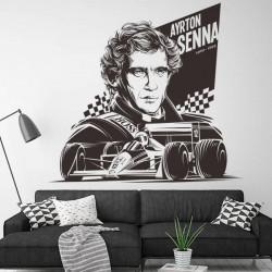 Vinilo Ayrton Senna