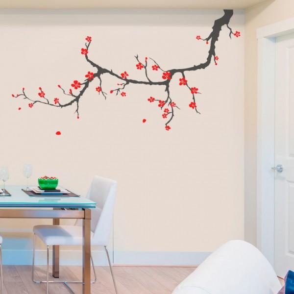 Adhesivo flor de cerezo