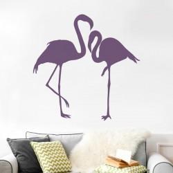 Vinilo de aves flamencos