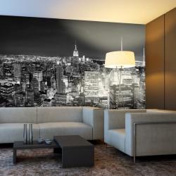 Mural Manhattan de noche