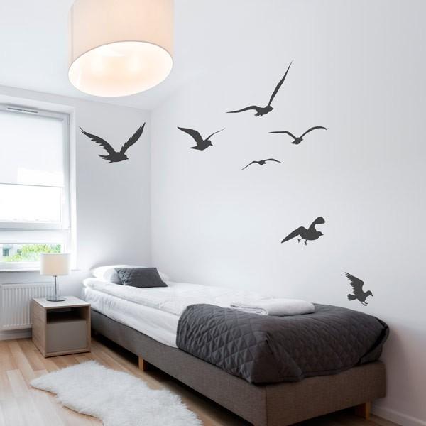Vinilo de aves volando