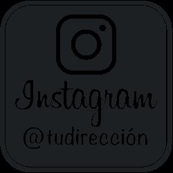 Vinilo para escaparate instagram