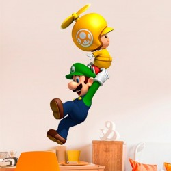 Vinilo decorativo Mario Bros