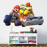 Vinilo decorativo Mario kart