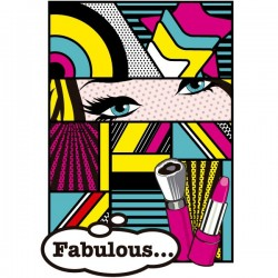 Póster Art Pop fabulous