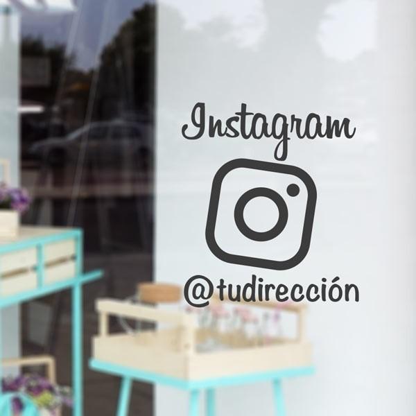 Vinilo decorativo Instagram