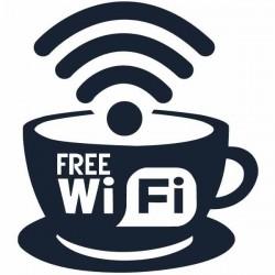 Vinilo para empresas free wifi