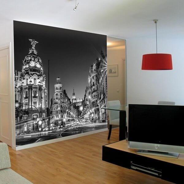 Fotomural Gran Vía  Madrid