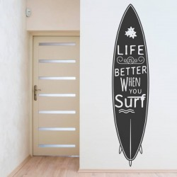 Vinilo decorativo surf