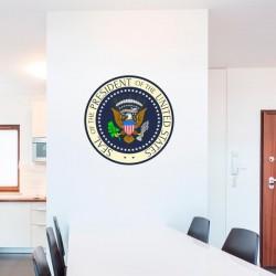 Adhesivo sello presidencial