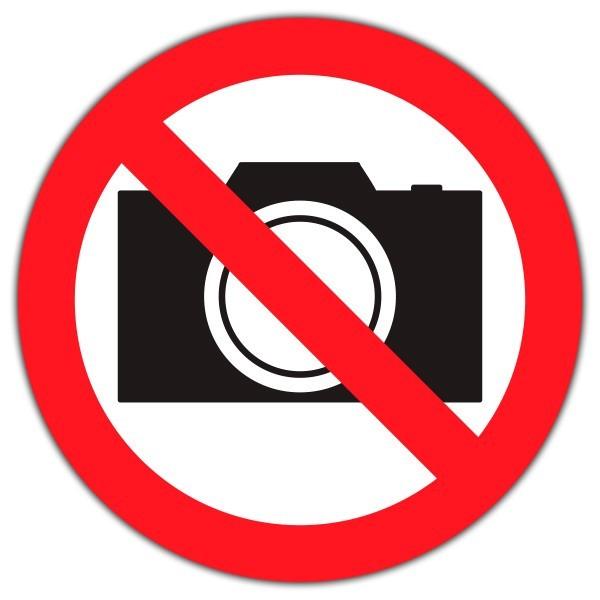 Vinilo prohibido fotografiar