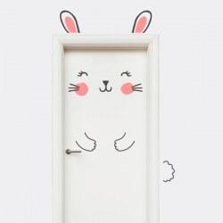 Vinilo puerta infantil de...