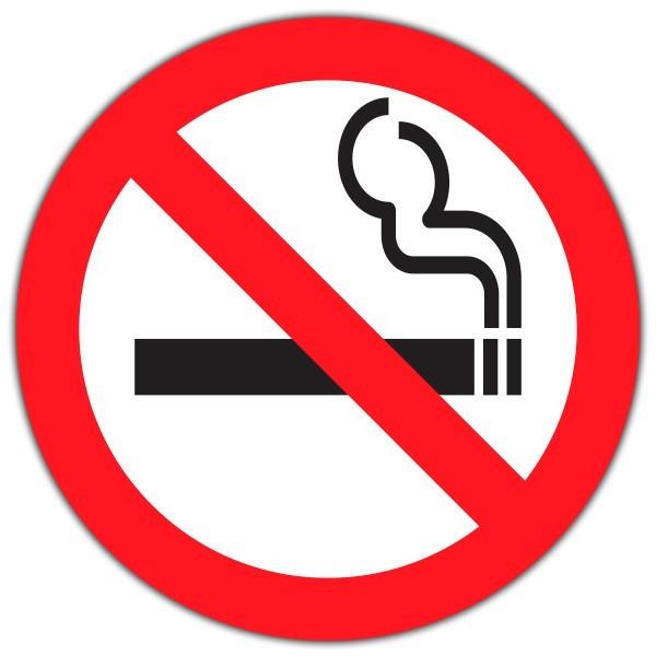 Vinilo para empresas no fumar