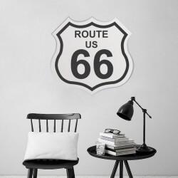 Vinilo decorativo Route U.S. 66