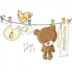 Vinilo infantil ropa de bebé