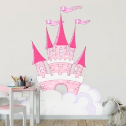 Vinilo castillo de la princesa