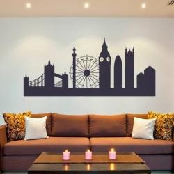 Pegatina skyline de Londres
