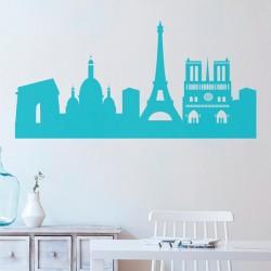 Vinilo skyline de París