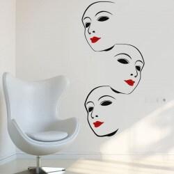 Adhesivo decorativo tres caras