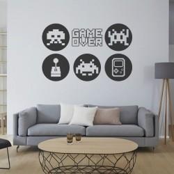 Vinilo videojuegos game over
