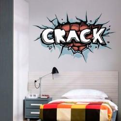 Vinilo pop art crack