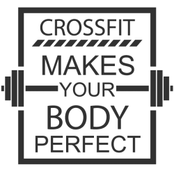 Vinilo decorativo crossfit